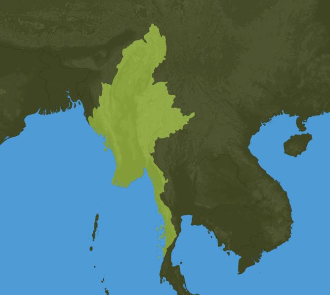 Carte Meteo Birmanie