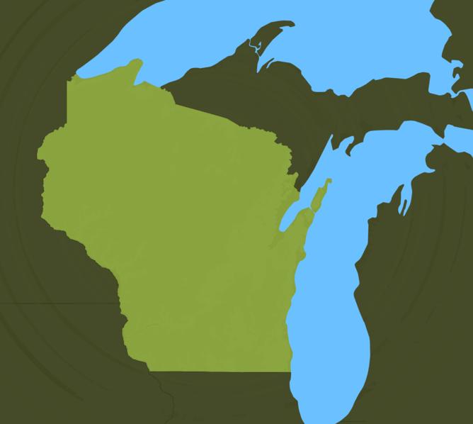 Carte Meteo Wisconsin