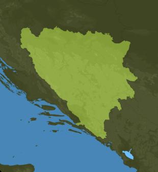 Carte Meteo Bosnie-Herzégovine