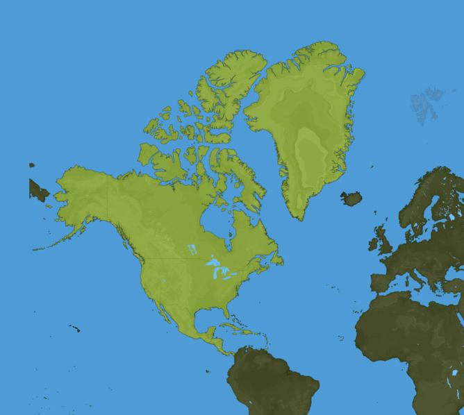 Carte Meteo Amérique du Nord