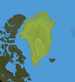 Carte Meteo Groënland