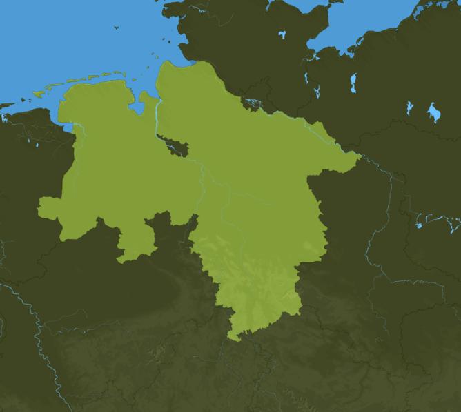 Carte Meteo Basse-Saxe