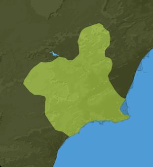 Carte Meteo Région de Murcie