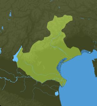 Carte Meteo Vénétie
