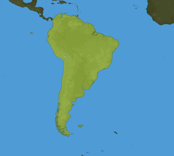 Carte Meteo Amérique du Sud