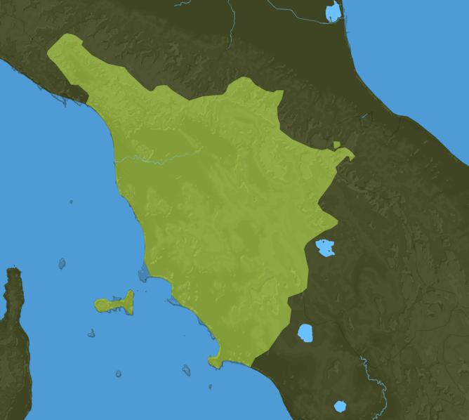 Carte Meteo Toscane