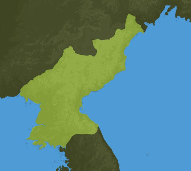 Carte Meteo Corée du Nord