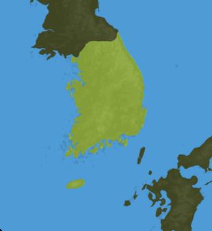 Carte Meteo Corée du Sud