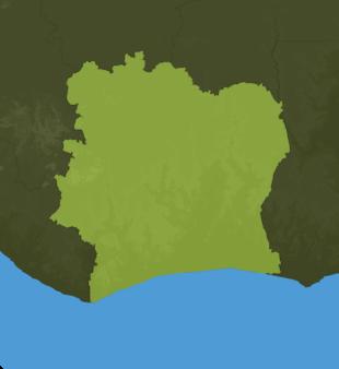 Carte Meteo Côte-d'Ivoire