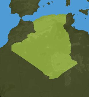 Carte Meteo Algérie