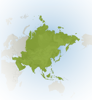 Carte Meteo Asie