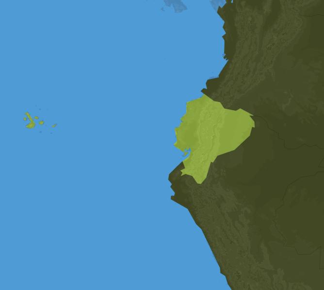 Carte Meteo Equateur