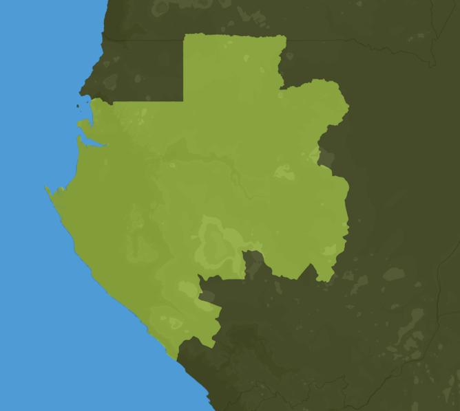 Carte Meteo Gabon