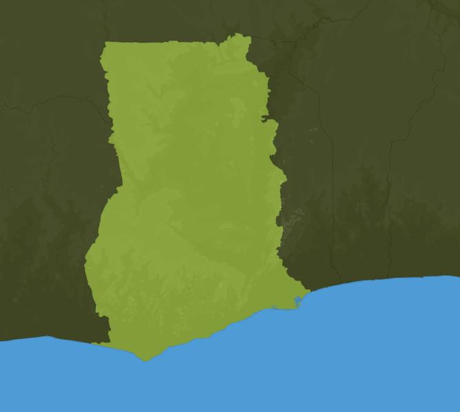 Carte Meteo Ghana