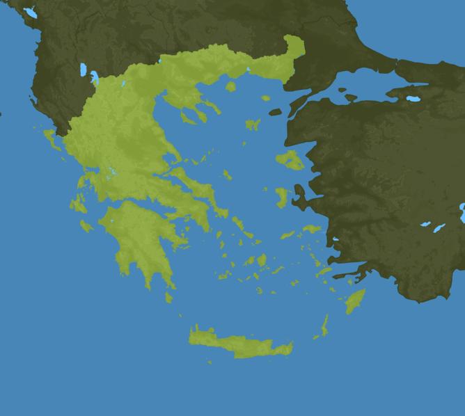 Carte Meteo Grèce