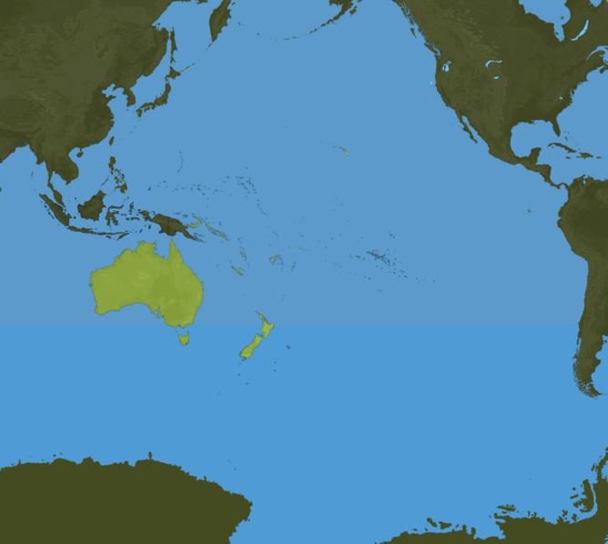 Carte Meteo Océanie