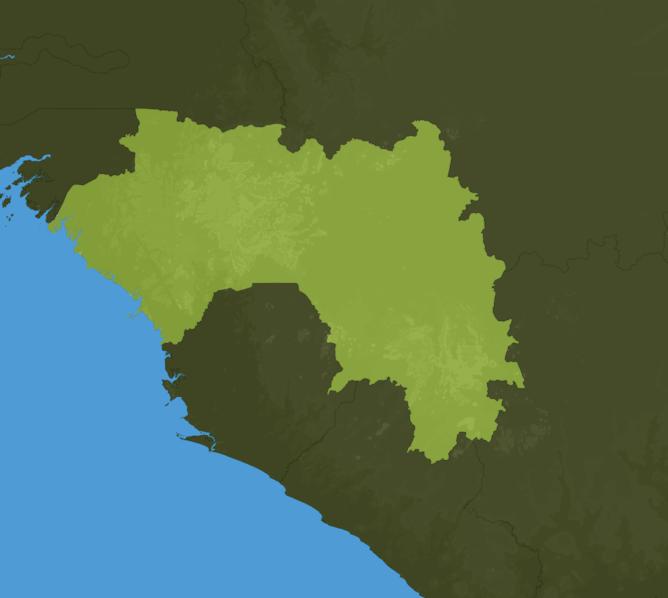 Carte Meteo Guinée