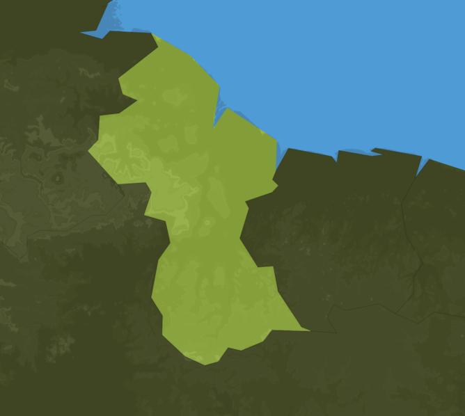 Carte Meteo Guyana