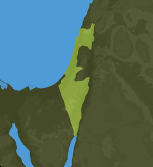 Carte Meteo Israël