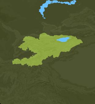 Carte Meteo Kirghizistan