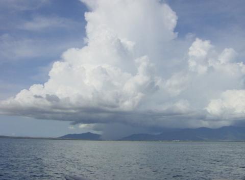 Orage sur l'ile de Margarita