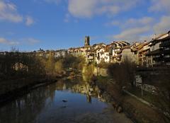 Ciel Fribourg Printanier