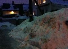 Stockholm 1m de neige (APPLICATION METEO - REPORTER MOBILE)