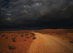 Ciel d'orage sur Matmata