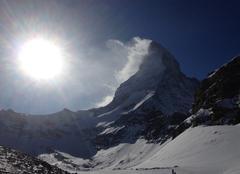 Neige Zermatt Le cervin