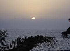 Coucher de soleil sur les Canaries