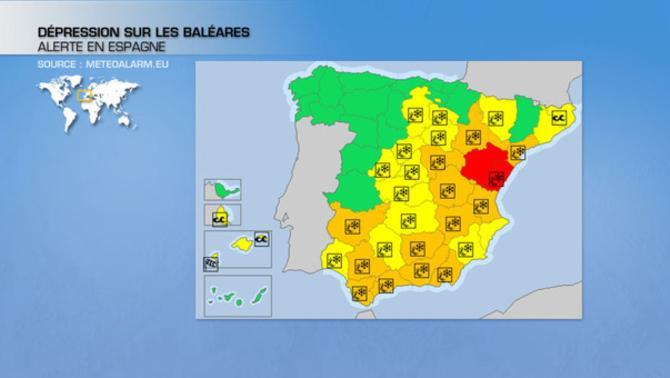 Actualités Etranger - Espagne - Neige