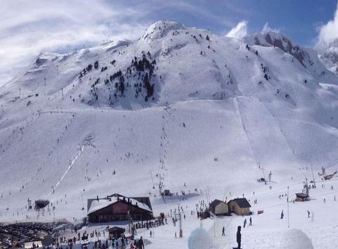 Ski a candanchu panoramique