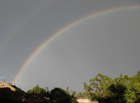 Arc en ciel à Hué