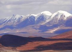 Nuages Atacama Cordillère des Andes