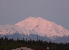 Anchorage Coucher de soleil en alaska