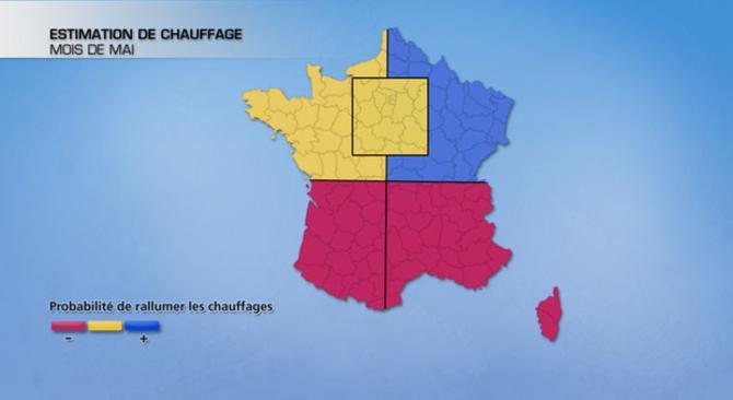 Actualit�s France - France - Climat