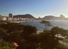 Ciel Rio De Janeiro Début de journée à Rio