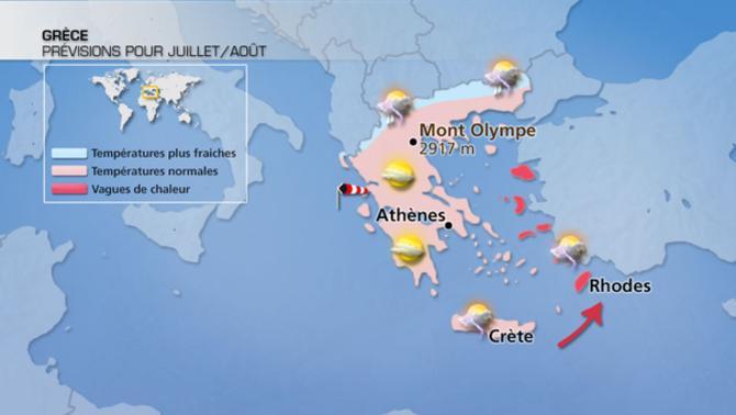 Actualités Etranger - Grèce - Climat