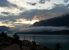 Ciel Interlaken Lever de soleil