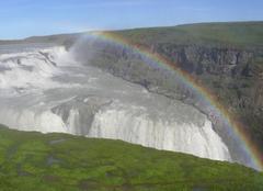 Brouillard Holari Arc en ciel islandais