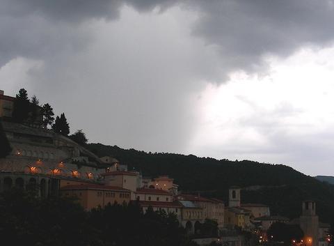 Soir d'orage