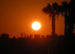 Ciel Paphos Coucher de soleil