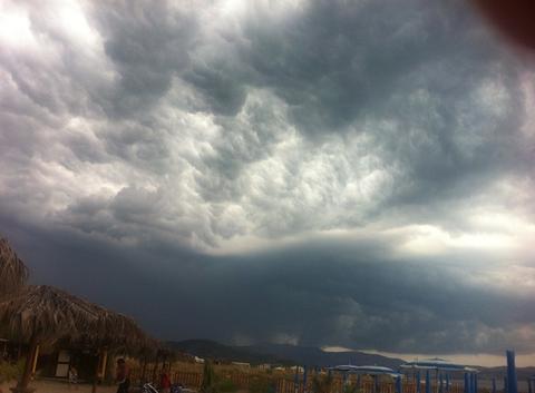 L'orage gronde sur Agropoli