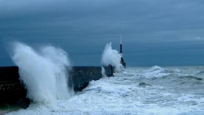 Reporters - Le Havre 76600 - Tempête