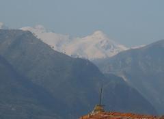 Neige Cuneo 12100 Le mont Viso en Italie