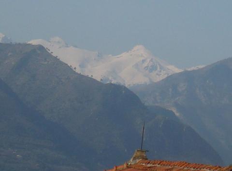 Le mont Viso en Italie