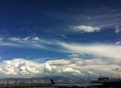 Nuages Salt Lake City Ciel chaotique USA