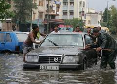 Pluie Rabat Inondation