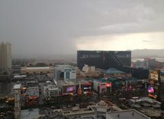 Insolite Las Vegas Énorme orage sur Las Vegas