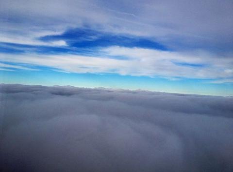 Au dessus des nuages Ukrainiens